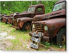 May They Rust In Peace Acrylic Print