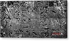 Maya Lingua Franca Acrylic Print by Roy Anthony Kaelin