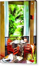 Maya Sari Mas Acrylic Print by Lanjee Chee