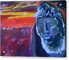 Maya Sunset Acrylic Print