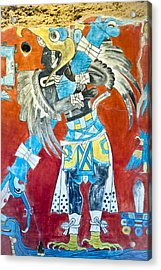 Mayan Fresco II Acrylic Print