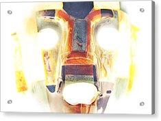 Mayan Mask Acrylic Print