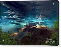 Mayan Mystery Acrylic Print
