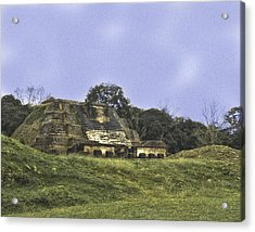 Mayan Ruins In Belize Acrylic Print
