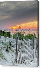 Acrylic Print featuring the photograph Mayflower Beach by Mike Ste Marie