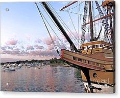 Mayflower II Acrylic Print by Janice Drew