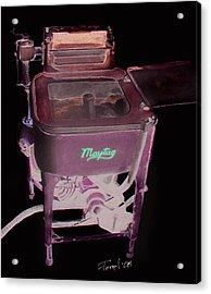 Maytag Acrylic Print by Ferrel Cordle