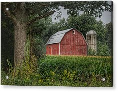 0027 - Mayville's Lapeer Road Red Acrylic Print