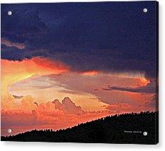 Mazatzal Peak Sunset Acrylic Print