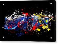 Mazda Acrylic Print