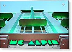 Mcalpin Hotel Acrylic Print
