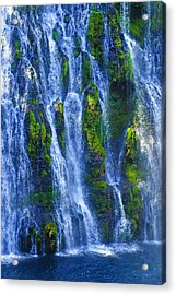 Acrylic Print featuring the photograph Mcarthur-burney Falls by Sherri Meyer