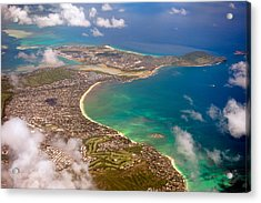 Acrylic Print featuring the photograph Mcbh Aerial View by Dan McManus