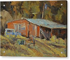 Mccarthy's Shed Acrylic Print by Gary Gore