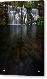 Acrylic Print featuring the photograph Mccloud Falls by Dustin LeFevre