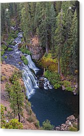 Mccloud River And Middle Falls Acrylic Print