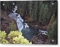 Mccloud River Falls Acrylic Print