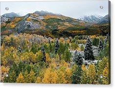Mcclure Pass - 9606 Acrylic Print