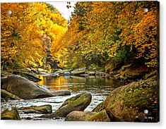 Mcconnell's Mill State Park Acrylic Print by Skip Tribby