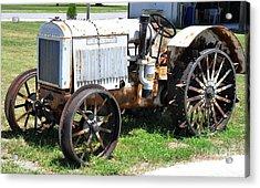 Mccormick-deering 10-20 Tractor Acrylic Print by John Black