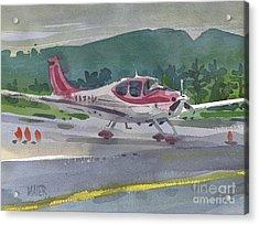 Mccullum Airport Acrylic Print by Donald Maier