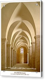 Mcdermott Great Mosque Aleppo Acrylic Print