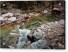 Mcdonald Creek 7 Acrylic Print by Marty Koch