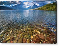 Mcdonald Lake Colors Acrylic Print
