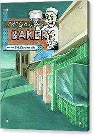 Mcgavins's Bakery Acrylic Print