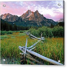 Mcgown Peak 2 Acrylic Print by Leland D Howard