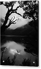 Mckenzie Reflection Acrylic Print by Karl Manteuffel