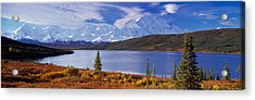 Mckinley River Denali National Park Ak Acrylic Print by Panoramic Images