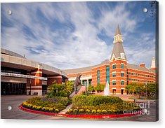 Mclane Student Life Center And Sciences Building - Baylor University - Waco Texas Acrylic Print