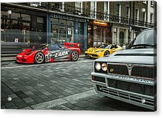 Mclaren F1 Gtr With Speciale And Integrale  Acrylic Print