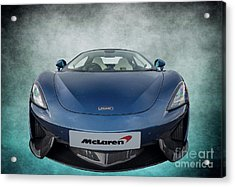 Mclaren Sports Car Acrylic Print by Adrian Evans