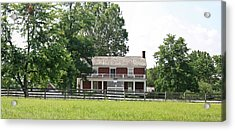 Mclean House Appomattox Court House Virginia Acrylic Print