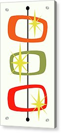 Mcm Shapes 1 Acrylic Print by Donna Mibus