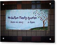 Mcquillen Family Reunion 2017 Acrylic Print