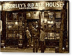 Mcsorley's Old Ale House Acrylic Print by Randy Aveille