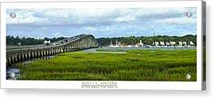 Mcteer Bridge Acrylic Print
