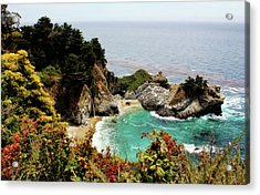 Mcway Falls 2 Acrylic Print by Judy Vincent