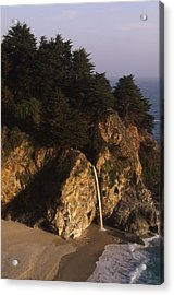 Mcway Falls Acrylic Print by Soli Deo Gloria Wilderness And Wildlife Photography