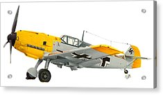 Me-109 Acrylic Print by Lyle Brown