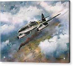'me - 262' Acrylic Print by Colin Parker