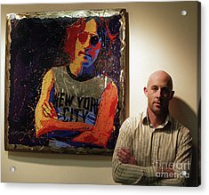 Me And My Mate John Acrylic Print