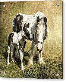 Me And My Mum Acrylic Print