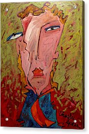 Me Jane Who The Hell Are You Acrylic Print by Charlie Spear