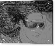 Me Acrylic Print by Linda Sannuti