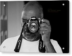Acrylic Print featuring the photograph ME by Paul SEQUENCE Ferguson             sequence dot net