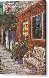 Mead Cafe Acrylic Print